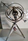 Libra Armilary Sphere on Tripod