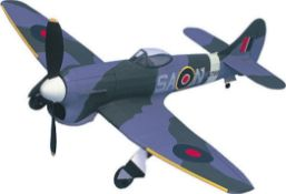 1 x Hawker Tempest Mk V: West WingsRubber Powered Balsa Wood Model Plane Kit WW504 |5055320210443