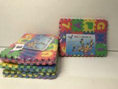 4 x Eva puzzle mats  1689552000721