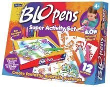 8 x BLO PENS SUPER ACTIVITY SET |5020674100344