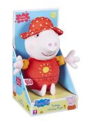1 x PEPPA PIG TALKING HOLIDAY PEPPA |5029736055967