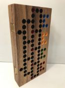 1 x Wooden board game