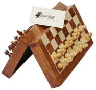 1 x SouvNear 31.75 x 31.75 cm Magnetic Chess Set  |B00I3ZA2IY