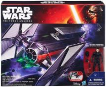 1 x Star Wars - B3920 - Force Awakens Tie Fighter Toy with First Order Pilot 3.75 Inch Action Figure