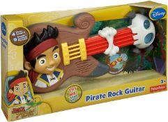 22 x Fisher-Price Jake and the Never Land Pirates Pirate Rock Guitar |746775250454