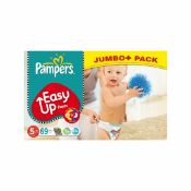 1 x Pampers Nappies Easy-Up Size 5 (Junior) 12-18kg 69­ Nappies |4015400536253