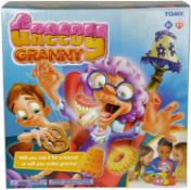 1 x TOMY Greedy Granny Children's Action Board Game, Family & Preschool Kids Game, Action Game for K