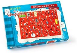 1 x Paul Lamond Diary of a Wimpy Kid Growing Pains Puzzle (250-Piece) |5012822052759