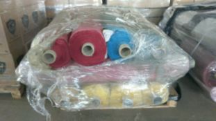 1 x Pallet of Swoon Easy Velvet on 13 rolls all appx 32 Metres