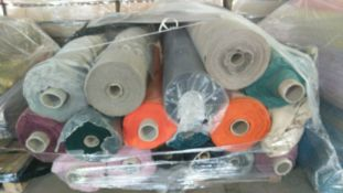 1 x Pallet of Assorted Swoon Easy Velvet - Appx 250 Metres & Appx 150 Metres Wool