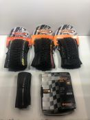 5 x Packs of Various Bike Tyres as per pictures