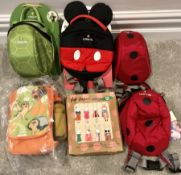 Lot of 6 x Various Children's Bags - As Pictured - NO VAT