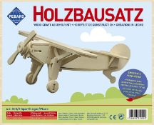 5 x Donau Elektronik M850-9 Wood Design Sport Aircraft, Multi-Colour |4006094850909