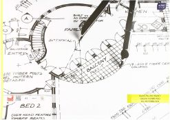 8 x Interdruk BLMIA3 Engineering Paper Pad A3 20 Sheets, Multi-Color  5902277170002