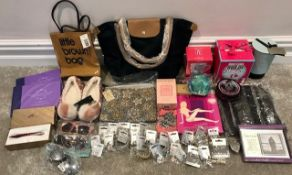 Bulk Lot of Unused Bags   Gifts   Perfume   Jewellery & Accessories - As Pictured - NO VAT