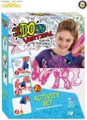 7 x I DO-3D Vertical Activity 2 3D Pen Activity Set  8056379027720