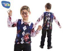 22 x Yiija! 6-8 yrs Zombie T Shirt |8435435011277 | ZERO VAT