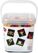 5 x Game Movil Game Movil84808 452 Pieces Pixel Colour Mosaic with Sand Timer, Multi-Color |84124998