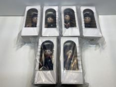 6 x Masek Fexible figure doll - Policeman |8591902632908