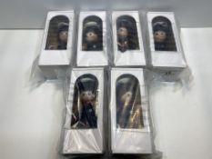 6 x Masek Fexible figure doll - Policeman  8591902632908
