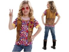 22 x Yiija! 8-10 yrs Hippy Girl T Shirt |8435435010867 | ZERO VAT