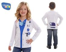 19 x Yiija! 6-8 yrs Mr & Mrs Doctors T Shirt  8435435010737   ZERO VAT
