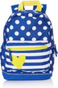 10 x Target Backpack Children Bag Yellow Hart 21996, Multi Colour |3838622219961