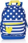 10 x Target Backpack Children Bag Yellow Hart 21996, Multi Colour  3838622219961