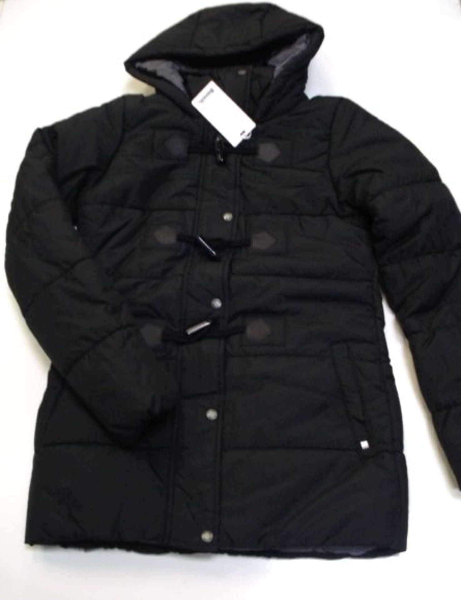 Women's Bench Brooker Hooded Padded Style Jacket with Toggle Fastening