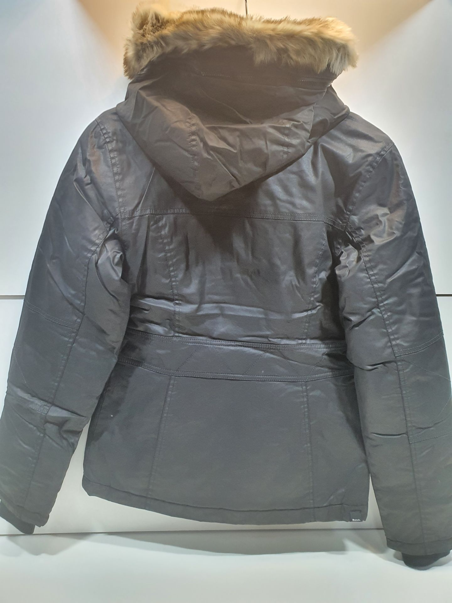 Bench Women's Lightly Padded Jacket w/Hood - Image 2 of 2