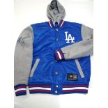 Men's Majestic LA Dodgers Redfield Hooded Jacket