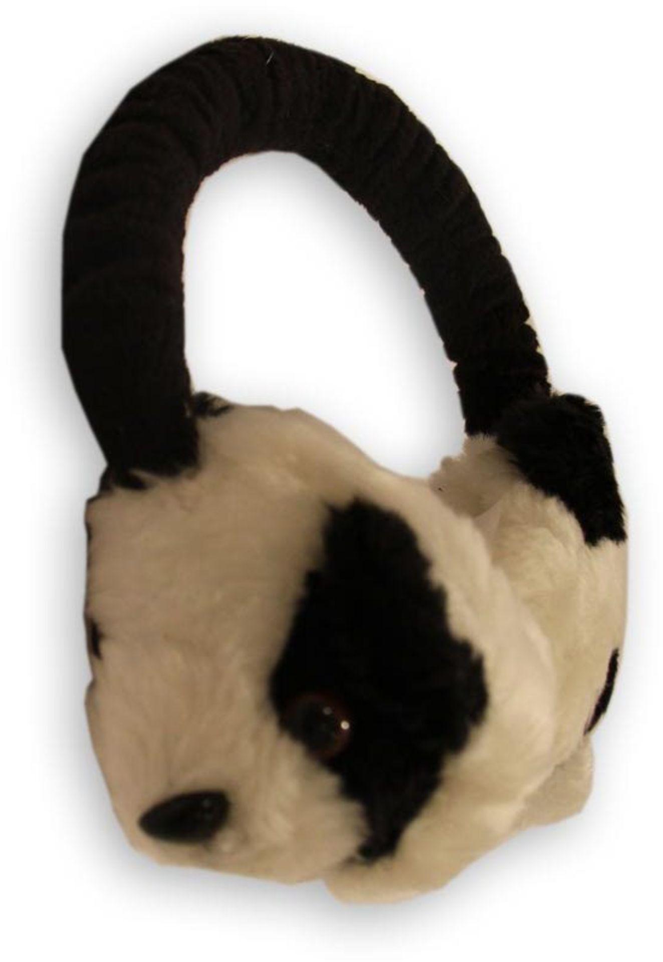Boutique Panda Design Earmuffs