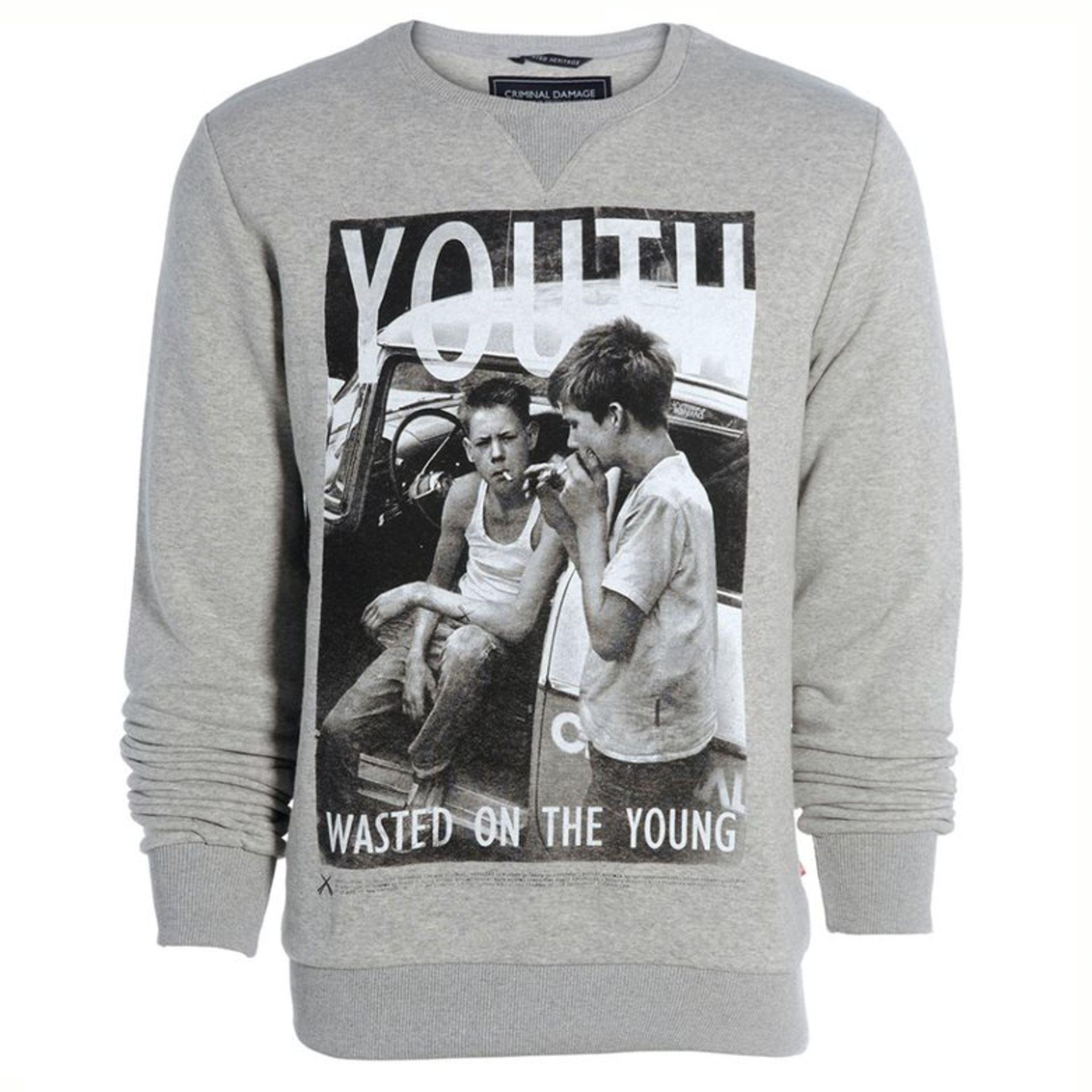 Criminal Damage Men's Sweater