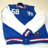 Men's Majestic LA Dodgers Dean Letterman Jacket