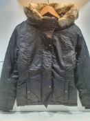 Bench Women's Lightly Padded Jacket w/Hood