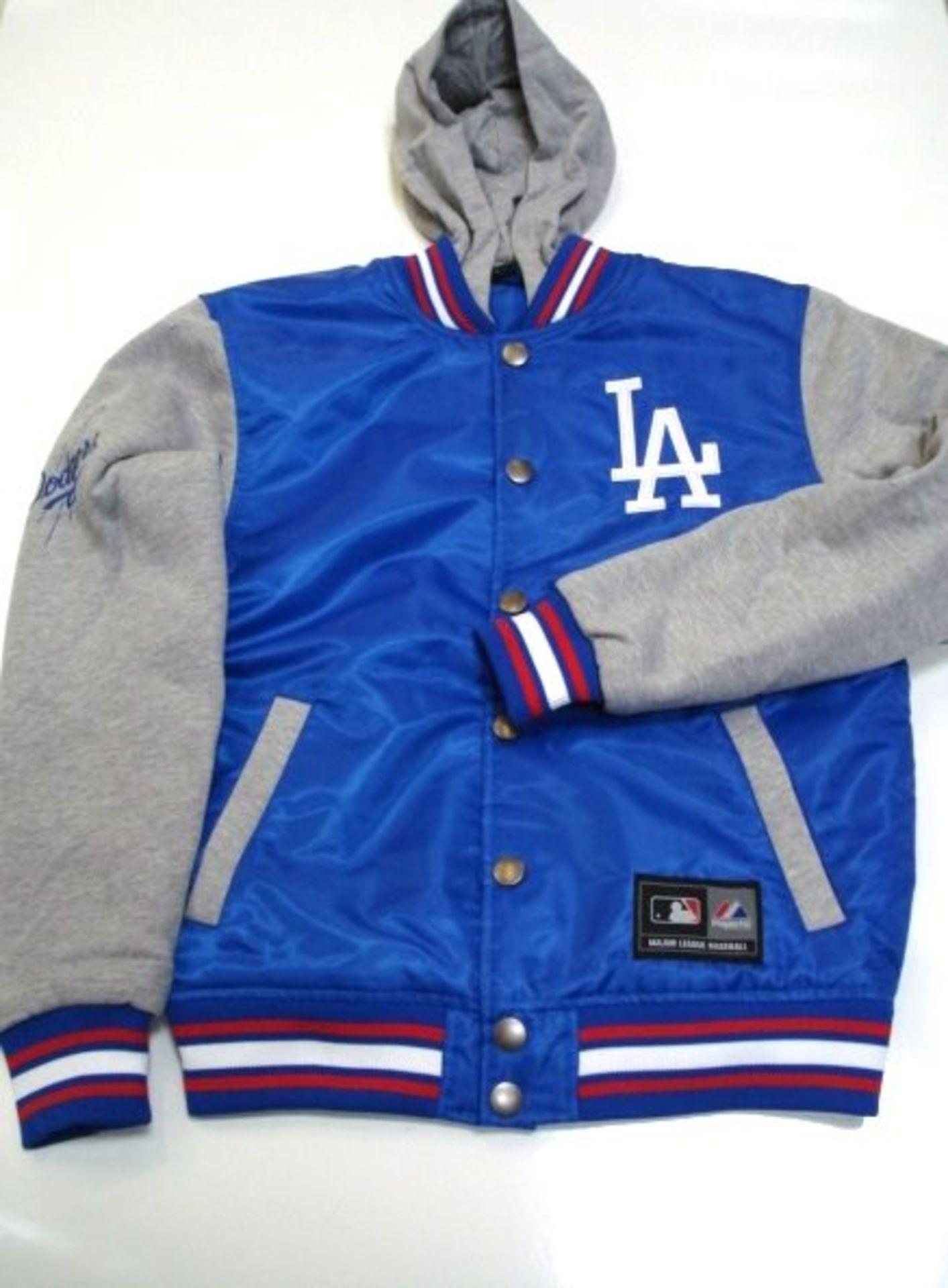 Men's Majestic LA Dodgers Redfield Hooded Jacket