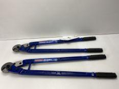 4 x Faithfull FAIPLWC24 Wire Cutter 60cm (24in) - 12mm Capacity