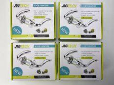 4 x Jigtech JTB72200 Cresta Door Handles Pack