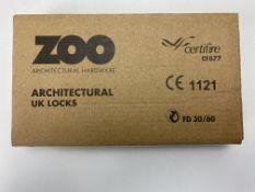 "6 x Zoo Hardware ZUKS76OPSS Oval Profile Sashlock 3"""