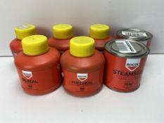 Mixed Lot Of Various Rocol Sealant