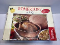 Römertopf Maxi Cooking Pot for 8 People | B001PPEPMI