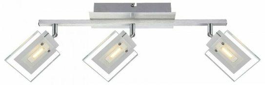 Globo Design LED Ceiling 3 Light Spotlight with Swivel Lamps | 9007371234639