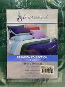 2 x Double Quilt Sets w/ Pillow Cases | 855031121732 | 855031121695