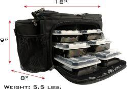 Isobag 6 Meal Management System - Black | B009ZYI8FQ