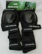 50 x Pairs Assorted Bauer Safety Pads for Knees/Legs/Wrist/etc | Total RRP £1000-£1500