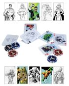 100 x DC Comics Universe Cards and Chip Set | Total RRP £1,000