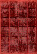 Bernard AubertinTableau ClousAcryl, Nägel, Holz. 1964. Ca. 57 x 40 cm. Verso signiert und d