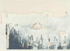"""Gerhard RichterOhne TitelÖl auf Papier. (19)89. Ca. 29,8 x 42 cm. Signiert und datiert """"19."""