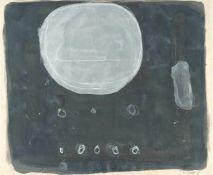 "William ScottNo ""41""Aquarell und Gouache auf feinem Bütten. (19)61. Ca. 50 x 61 cm. Signier"