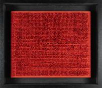 Bernard AubertinTableau ClousAcryl, Nägel, Holz. 1966. Ca. 50 x 60 cm. Verso signiert, dati